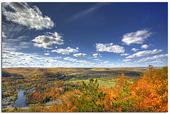 Eagles Nest Lookout ~ Bancroft, Ontario (YYZDez) Tags: autumn trees ontario fall field clouds fallcolors 5d hdr haliburton bancroft exposureblending photomatix coth digitalblending tonemapping photomatixhdr canonef24105f4isl coth5 afhht