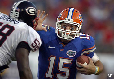 Tim Tebow is perhaps the greatest College Football Player ever!
