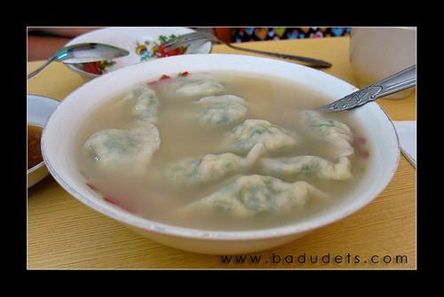 Dumpling Noodle Soup, Php 100