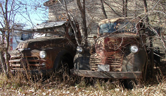 abandoned truck northdakota dodge deserted unused gacklend