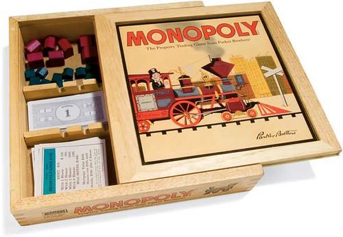 Monopoly Nostalgia, edición en caja de madera