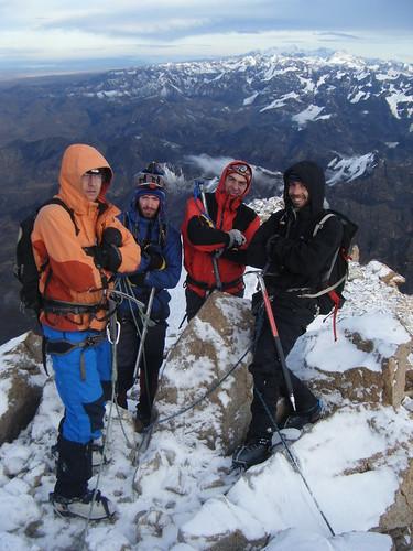 Summit of Huayna Potosi