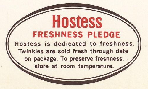 Hostess Pledge - 1978