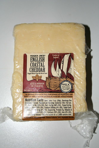 2009-05-21 - Cheese - Trader Joe's English Coastal Cheddar
