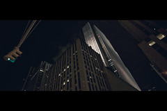 Gotham City (- Loomax -) Tags: newyork night buildings manhattan rockefellercenter radiocity theatredistrict
