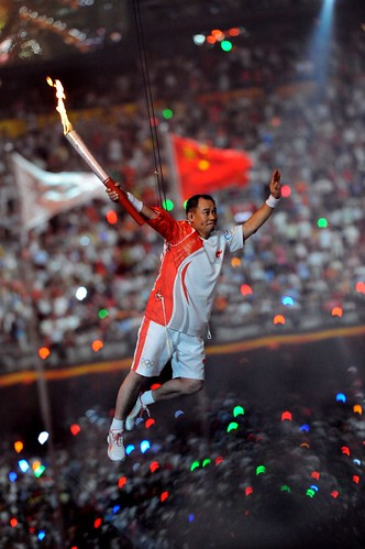 Li_Ling_during_2008_Summer_Olympics_opening_ceremony