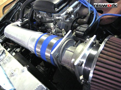 S13 Custom air intake