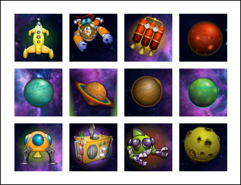 free Cosmic Quest Episode Two slot game symbols