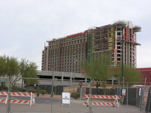 Talking Stick Resort - under construction