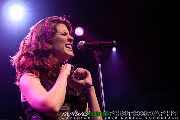 Charlotte Wessels - Delain - Dortmund, FZW - 02.12.2009