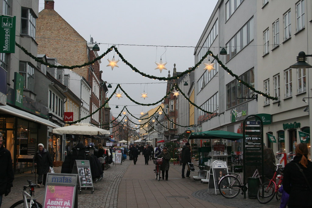 Skomagergade in December