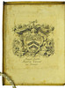 Armorial bookplate in Perottus, Nicolaus: Rudimenta grammatices
