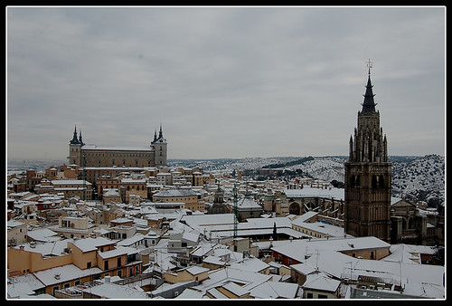 Toledo nevado