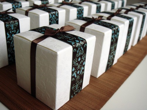 Fudge Assortment In White Embossed Boxes
