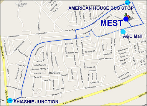 MEST Map