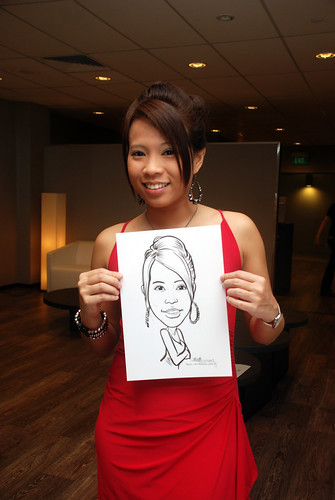 Caricature live sketching for Lonza - 13