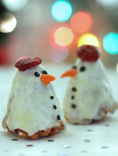 Snowman krispies 6785