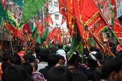 Flags of Ashura [Dhaka, Bangladesh] (- Ariful H Bhuiyan -) Tags: nikon islam shia ashura dhaka karbala bangladesh sunni d40 nikond40 tajia january2009 10muharram thetenthday