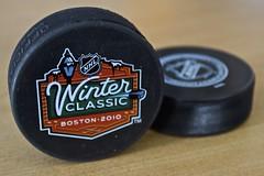 NHL Winter Classic Pucks