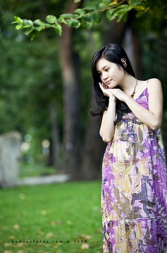Hình chân dung con gái Sài Gòn