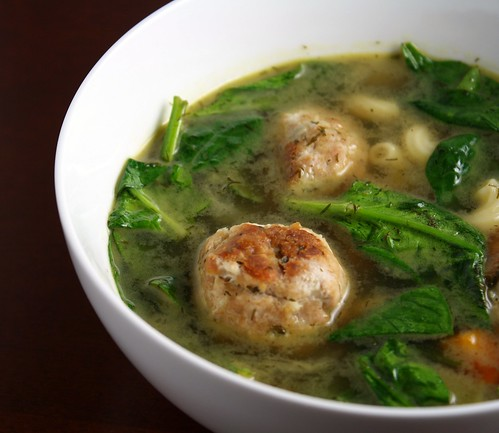 Italian Wedding Soup (blurry-ish)
