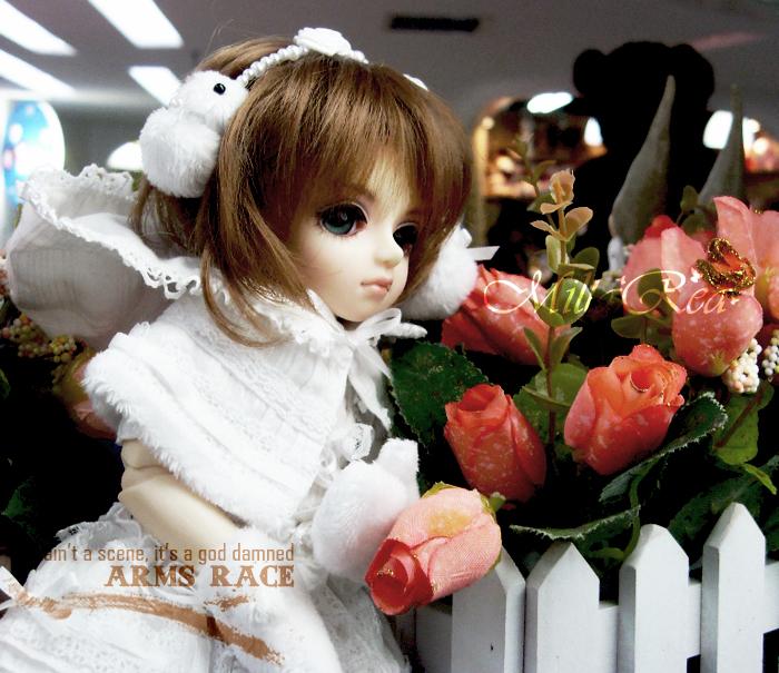 公主與花朵