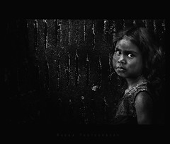 ,   ? (bhagath makka) Tags: bw india girl fence kid intense eyes pentax feel balckandwhite chennai tamilnadu makka karthick bhagath k200d sniktha makkaphotography
