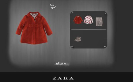 Zara product page