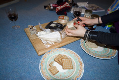 Strathy_Scotland_110 (jjay69) Tags: christmas uk winter england food snow cold cheese scotland highlands frost wine britain freezing snack sutherland crackers strathy northernscotland cheeseandbiscuits
