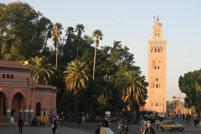 Koutoubia Monument in Marrakech
