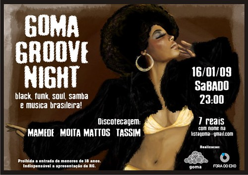 Goma Groove Night @ Sábado - 16/01/09 by GOMA Fotos.