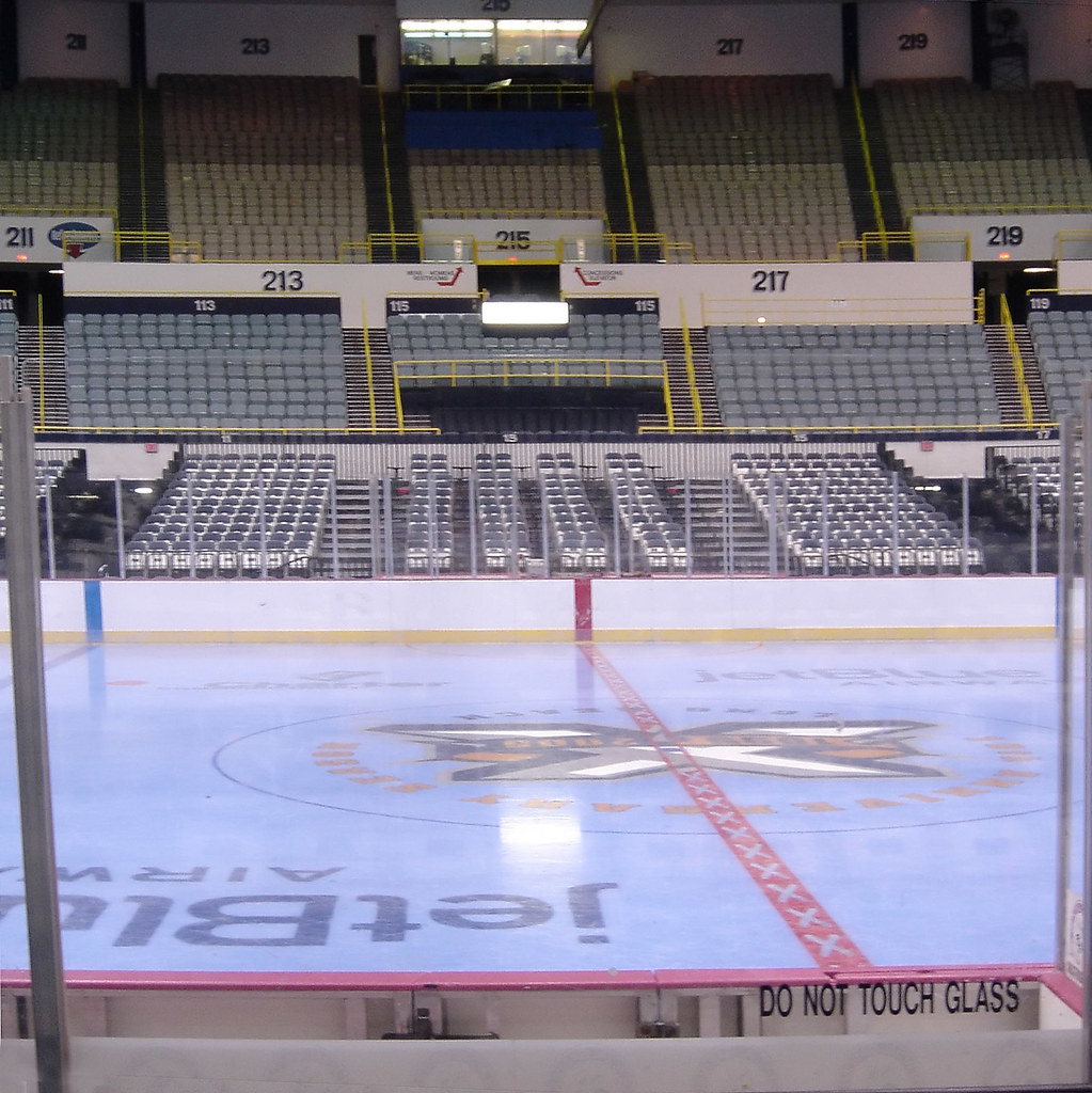 The Blue Ice of Long Beach Arena