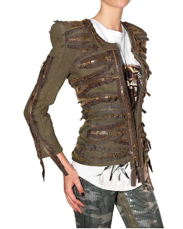 Balmain SS2010 zipper jacket 2 3