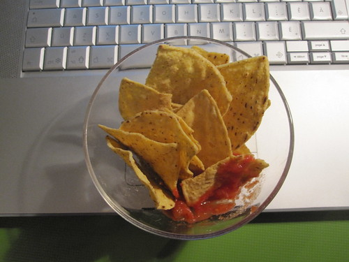 Chips and salsa from the bistro - free