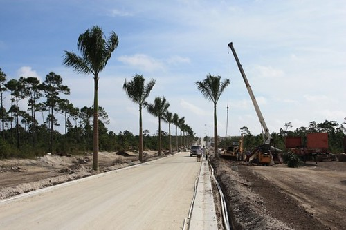 Landscaping Begins at Serenity Point
