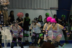 Hellions vs. Slashers (102) (cthomps1980) Tags: city party hot metal slumber steel roller derby demons hellions slashers