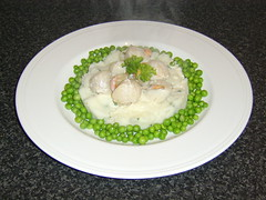 Scottish King Scallops with Whisky Cream Sauce