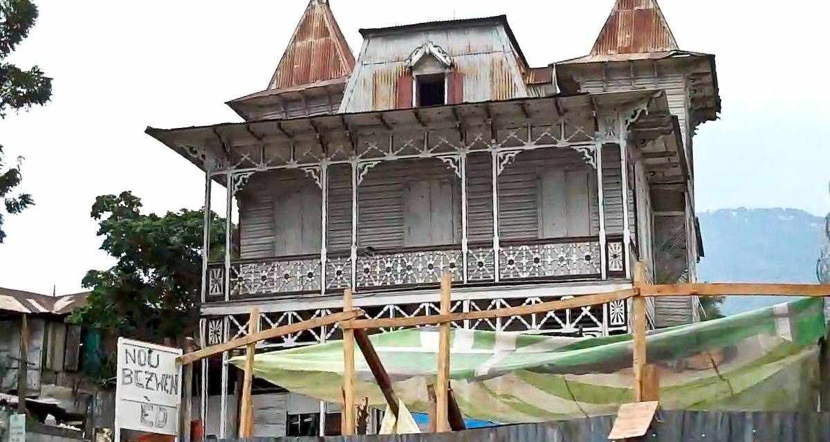 Several of the 19th-century gingerbread houses in Port-au-Prince managed to weather the January 12 earthquake
