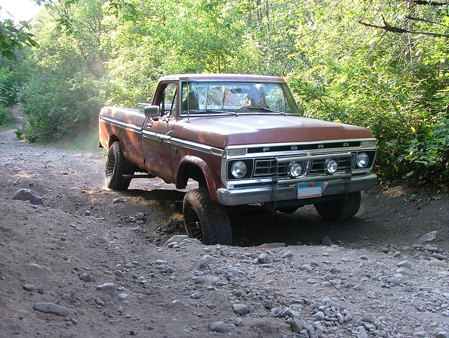 ford truck 4x4 1976 f250 highboy