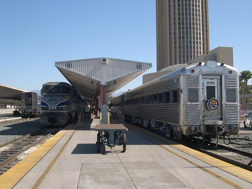 Private Rail Car - Vista Canyon, Track 12 Los Angeles