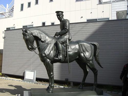 秋山好古像/Akiyama Yoshifuru's Statue