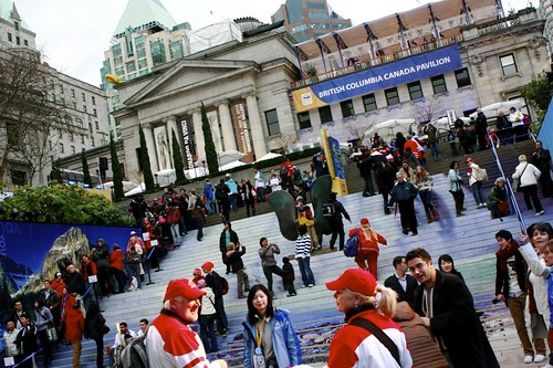 Vancouver Olympics Stock Photos