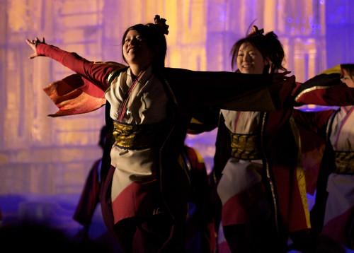 Yosakoi Dancing at the Sapporo Snow Festival