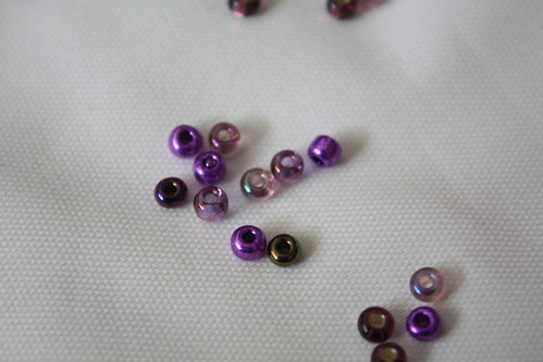 beads for the swallowtail shawl