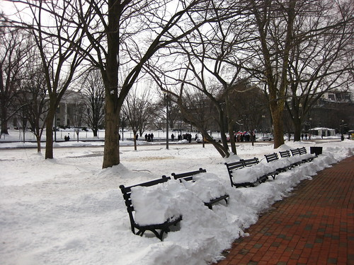 Lafayette Park in Snow