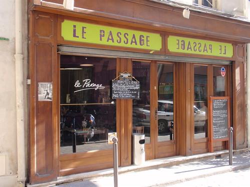 Le Passage restaurant