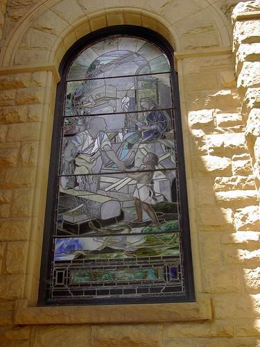 IM000540 Stanford University, Mural