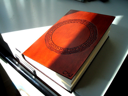 Stargate Leather Journal
