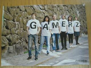 Nokia WOMWorld GAMERZ Poster