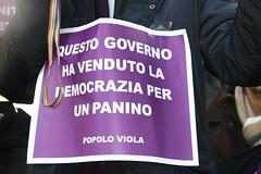 No al condono elettorale (PDnetwork) Tags: pd manifestazione panino decreto partitodemocratico popoloviola adlistam